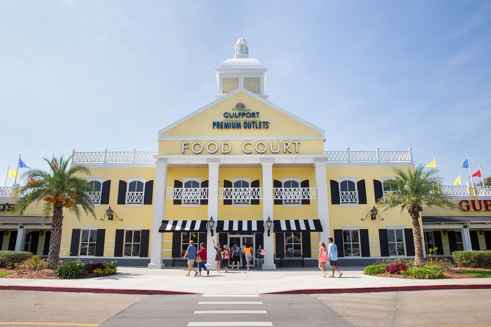 Shopping at Gulfport Premium Outlets on Saturday, August 1, 2015. Photo by James Edward Bates.